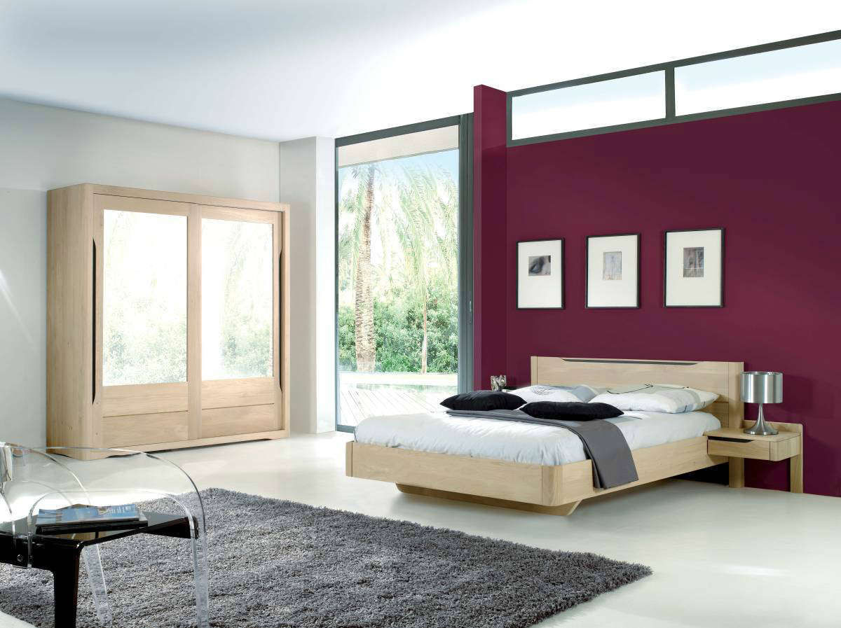 meubles chambre troyes with chambre a coucher moderne avec dressing. Black Bedroom Furniture Sets. Home Design Ideas